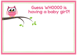Free Printable Baby Shower Free Printable Owl Baby Shower Invitations U0026 Other Printables