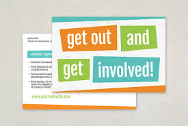 Volunteer Brochure Template by Bright Bold Volunteer Flyer Template Postcard Design Templates