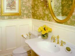 Powder Rooms With Wainscoting Half Bathroom Or Powder Room Hgtv