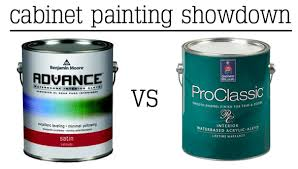 how to paint cabinets with benjamin advance benjamin vs sherwin bower power
