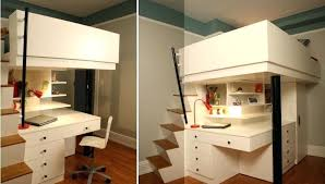 Bunk Bed With Desk And Stairs Bunk Beds Desk U2013 Hugojimenez Me