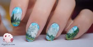 nail art hand painted nail art break rules not nails designs