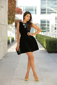 black necklace dress images How to accessorize a little black dress glam radar jpg