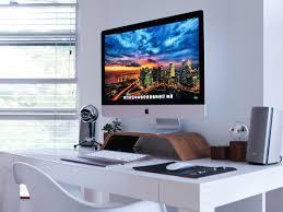 imac wall mount desk setup 5k imac imac pinterest desk setup desks and