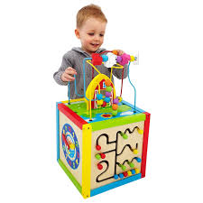 wooden activity table for wooden play cube activity center learning toy wooden designs