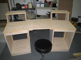 customize your own desk furniture how to build a desk from scratch diy reception desk for