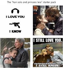 Princess Leia Meme - the best of starter pack memes han solo and princess leia