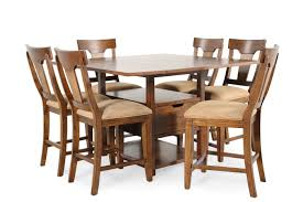 legacy river run seven piece pub set mathis brothers furniture