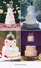 cake wedding disney wedding cake ideas popsugar food