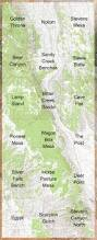 Midway Utah Map by Capitol Reef National Park And Vicinity