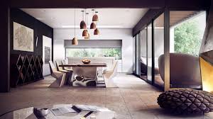 Modern Rustic Dining Room Ideas by Interior Shabby Chic House Interior With Rustic Wooden Dining
