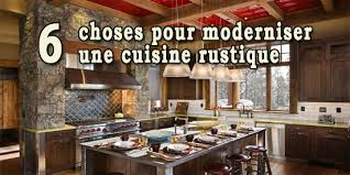 moderniser une cuisine en bois creer une cuisine ouverte 5 6 choses pour moderniser une