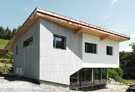 öko skin single family home st georgen silvergrey by rieder