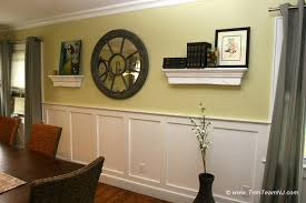 Dining Room With Wainscoting Dining Room Wainscoting Large And Beautiful Photos Photo To