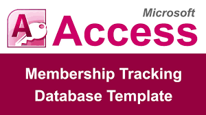 microsoft access membership tracking database template youtube