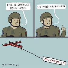 It Support Memes - air support is always there for you meme by mustafatopi memedroid