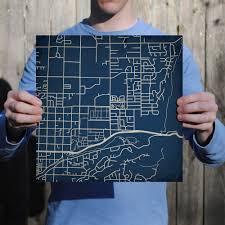 Utah Campus Map by Utah State University Campus Map Art City Prints