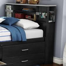 Bookcase Bed Queen Bookcase Headboards You U0027ll Love Wayfair