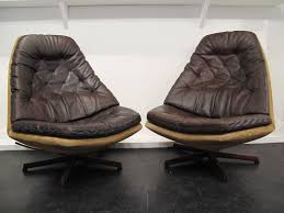 M S Armchairs Pair Of Easy Chairs Madsen Et Schobel Model Ms 68 At 1stdibs