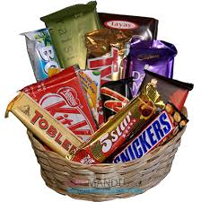 chocolate baskets cadbury dozen chocolates gift basket 12 chocolates send gifts