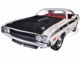 1970 dodge challenger matte black dodge challenger t a white with flat black stripes 1 24 diecast