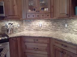 Glass Backsplash Kitchen by Mosaic Glass Backsplash