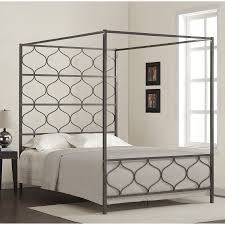 Metal Canopy Bed Metal Canopy Bed Silver U2014 Suntzu King Bed Stylish Metal Canopy Bed
