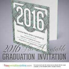 printable graduation invitations free printables
