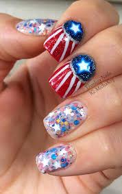 nail art fourth of july u2013 slybury com