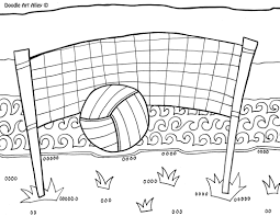 sports coloring pages doodle art alley