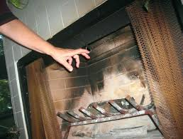 clean fireplace damper plate removal door pull home design image