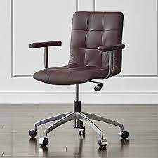 home office chairs crate and barrel