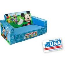 mickey mouse clubhouse flip open sofa with slumber topseller disney mickey mouse clubhouse flip open sofa with slumber