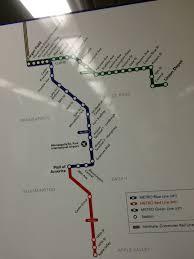 Light Rail Map Minneapolis Official Map Metro Light Rail Brt Network Transit Maps