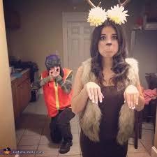 Deer Halloween Costumes Hunter Deer Couples Costume Couple Halloween Halloween