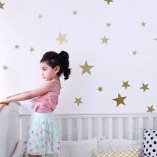 compare prices on gold wall decals online shopping buy low price wall stickers stars for kids rooms golden star gold wall decal art decor china