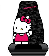 How Much Are Seat Covers At Walmart by Amazon Com Hello Kitty Sanrio Waving Car Truck Suv Bucket Seat