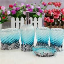 Bathroom Decor Set by Beach Themed Bathroom Accessories Sets Ocean Bathroom Accessories