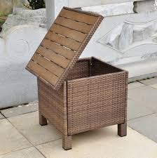 wicker patio storage wicker patio storage deck box home design ideas