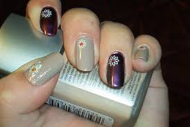 chic simple flower nail art by minilove17 on deviantart