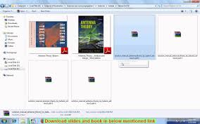 antenna theory balanis book and solutions manual download youtube