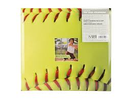 Postbound Album Mbi 12x12 Softball Scrapbook