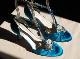 teal wedding shoes mid heels vintage style closed toes 40s