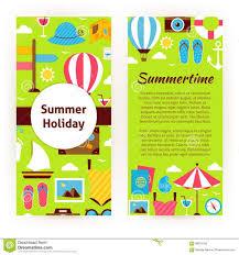 brochure summer camp brochure template