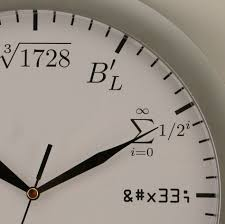 Buy Clock by Eagleapex Math Clock