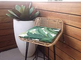 Outdoor Cushions Chair Pads Palm Leaf Cushions Banana Leaf Outdoor Cushions