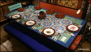 Tiled Patio Table Furthur Wholesale Mosaic Dining Tables