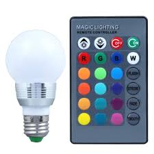 Rgb Led Light Bulb With Remote by Aliexpress Com Buy E27 10w Rgb Led Light Color Changing Lamp
