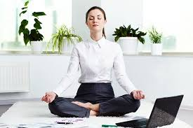 Desk Yoga Poses Yoga At Work Youbeauty Com