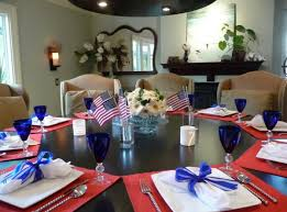 Red White And Blue Home Decor Happy 4th Of July Interiors Inspired By Red White U0026 Blue